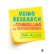 Using Research in Counselling and Psychotherapy (BOK)