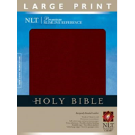 Slimline Reference Bible-NLT-Large Print