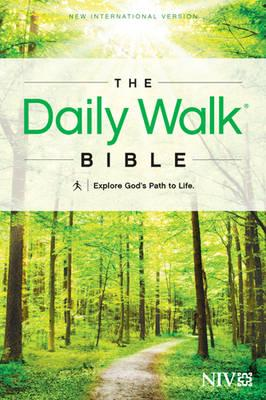 Daily Walk Bible-NIV: Explore God's Path to Life (BOK)