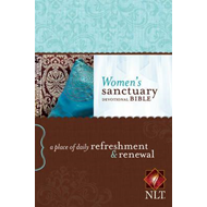 Women's Sanctuary Devotional Bible-NLT (BOK)