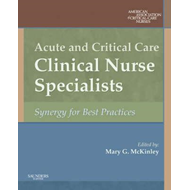 Acute and Critical Care Clinical Nurse Specialists (BOK)