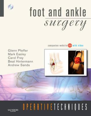 Operative Techniques: Foot and Ankle Surgery (BOK)