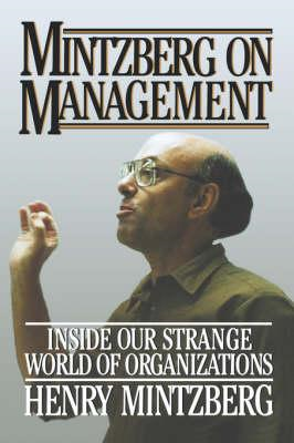 Mintzberg on Management (BOK)