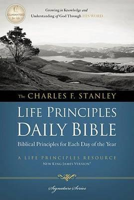 Charles F. Stanley Life Principles Daily Bible-NKJV (BOK)