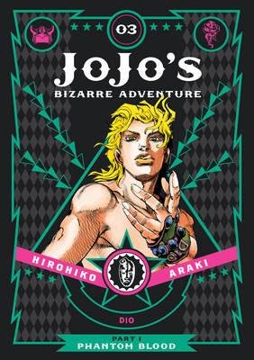 JoJo's Bizarre Adventure: Part 1--Phantom Blood, Vol. 3 (BOK)
