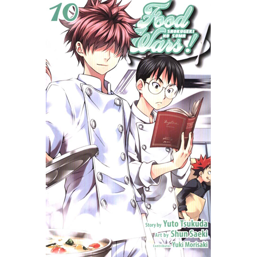 Food Wars!, Vol. 10 (BOK)
