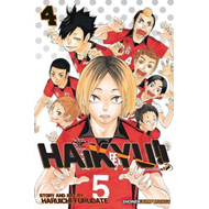 Haikyu!!, Vol. 4 (BOK)