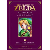 Legend of Zelda: Majora's Mask / A Link to the Past -Legenda (BOK)