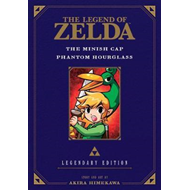 Legend of Zelda: The Minish Cap / Phantom Hourglass -Legenda (BOK)