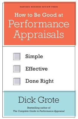 How to Be Good at Performance Appraisals (BOK)