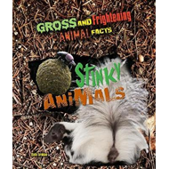 Produktbilde for Gross and Frightening Animal Facts: Stinky Animals (BOK)