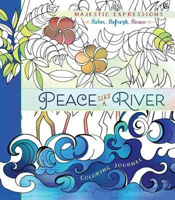Adult Coloring Journal: Peace Like a River (BOK)