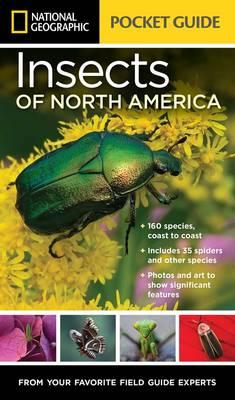 National Geographic Pocket Guide to Insects of North America (BOK)