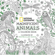 National Geographic Magnificent Animals: Coloring Book (BOK)