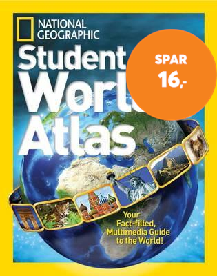 National Geographic Student World Atlas Fourth Edition (BOK)