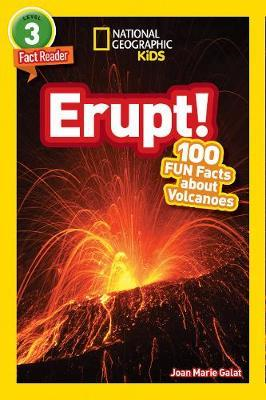 National Geographic Kids Readers: Erupt! (BOK)