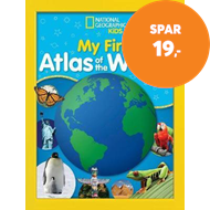 Produktbilde for National Geographic Kids My First Atlas of the World - A Child's First Picture Atlas (BOK)
