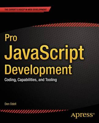 Pro JavaScript Development (BOK)