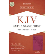 Super Giant Print Reference Bible-KJV (BOK)