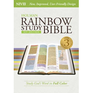 Rainbow Study Bible-NIV (BOK)
