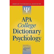 APA College Dictionary of Psychology (BOK)