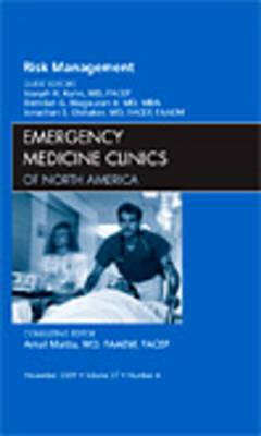 Risk Management, An Issue of Emergency Medicine Clinics (BOK)
