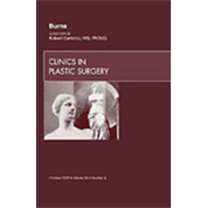 Burns, an Issue of Clinics in Plastic Surgery (BOK)