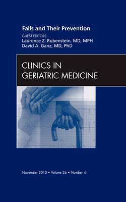 Falls and Their Prevention,  An Issue of Clinics in Geriatri (BOK)