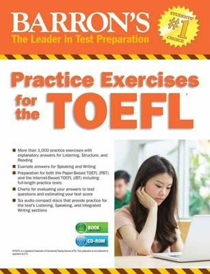Practice Exercises for the TOEFL with MP3 CD, 8th Edition (BOK)