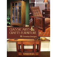 Classic Arts & Crafts Furniture: 15 Timeless Designs by Robert W. Lang (BOK)