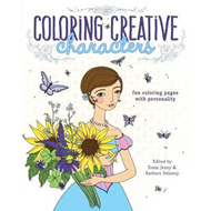 Coloring Creative Characters (BOK)