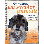 No Excuses Watercolor Animals (BOK)