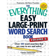 Everything Easy Large-Print Word Search Book (BOK)
