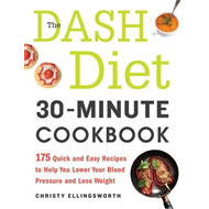 Dash Diet 30-Minute Cookbook (BOK)