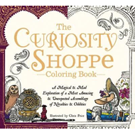 Curiosity Shoppe Coloring Book (BOK)