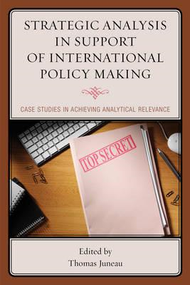 Strategic Analysis in Support of International Policy Making (BOK)