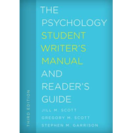 Psychology Student Writer's Manual and Reader's Guide (BOK)