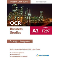 OCR A2 Business Studies Student Unit Guide New Edition: Unit (BOK)