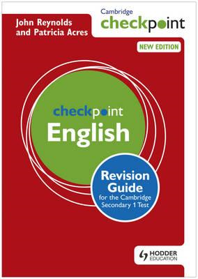 Cambridge Checkpoint English Revision Guide for the Cambridge Secondary 1 Test (BOK)