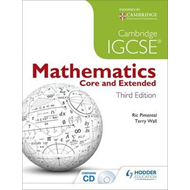 Cambridge IGCSE Mathematics Core and Extended 3ed + CD (BOK)