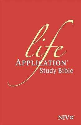 NIV Life Application Study Bible (Anglicised) (BOK)