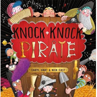 Produktbilde for Knock Knock Pirate (BOK)