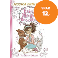 Produktbilde for Evie's Magic Bracelet: The Silver Unicorn - Book 1 (BOK)