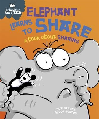 Elephant Learns to Share - A book about sharing (BOK)