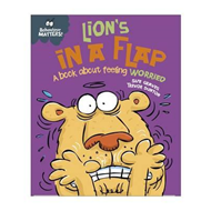 Lion's in a Flap - A Book About Feeling Worried (BOK)