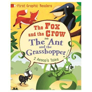 First Graphic Readers: Aesop: the Ant and the Grasshopper & (BOK)