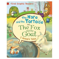 First Graphic Readers: Aesop: The Hare and the Tortoise & Th (BOK)