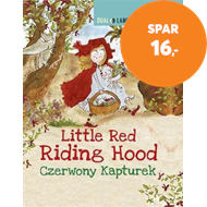 Produktbilde for Dual Language Readers: Little Red Riding Hood - English/Polish (BOK)