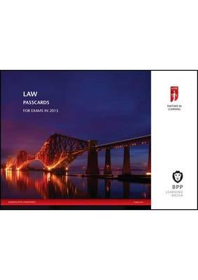 ICAEW - Law: Passcards (BOK)