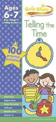 Gold Stars Tell the Time Practice Book Age 6-8 (BOK)